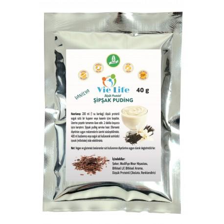 Düşük Proteinli Şipşak Puding - Vanilya