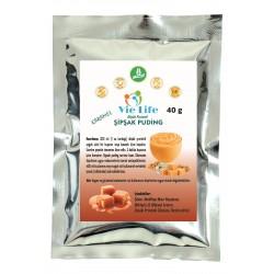 Düşük Proteinli Şipşak Puding - Karamel